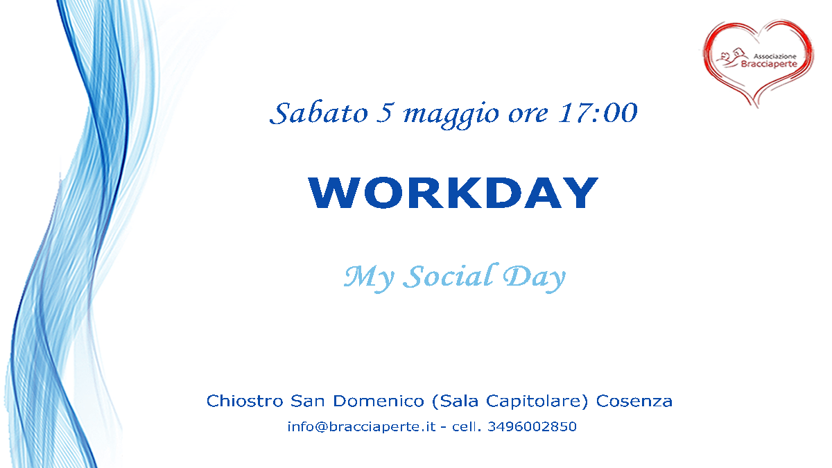 WORKDAY Bracciaperte