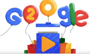 Google compie 20 anni