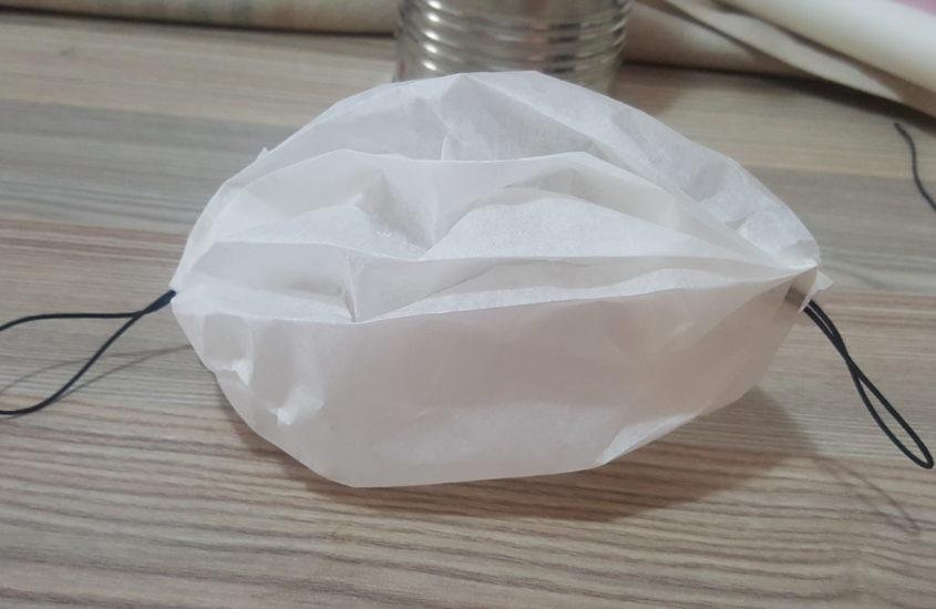 Mascherina di carta