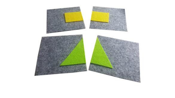 puzzle figure geometriche